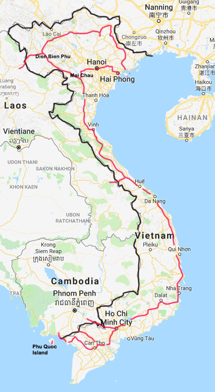 Vietnam - Ride The Road on